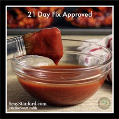 21 day Fix BBQ sauce