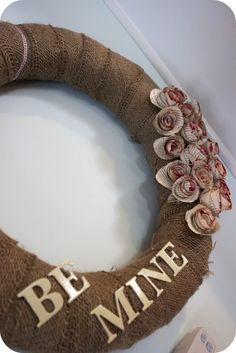 Valentine's Day Wreath by danielle