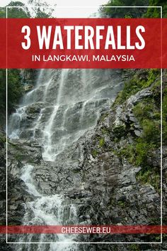 Get off the beaten path in Malaysia's Langkawi Archipelago and explore 3 amazing waterfalls. The island is a UNESCO-listed World Geopark and offers pristine nature and stunning scenery.