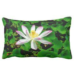 Lotus Blossom No 2 Pillow