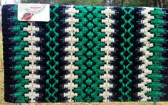 Custom Black & Kelly Green Show Pad – The Bling Boutique