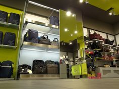 Carpisa | Leather shop | The Mall | Athens | iidsk  |  Interior Design & Construction