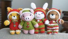 Mesmerizing Crochet an Amigurumi Rabbit Ideas. Lovely Crochet an Amigurumi Rabbit Ideas. Crochet Rabbit, Crochet Bear, Crochet Gifts, Crochet Animals, Free Crochet, Crochet Amigurumi, Amigurumi Doll, Amigurumi Patterns, Crochet Patterns