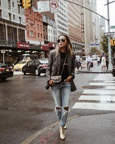 """Shop Sincerely Jules on Instagram: """"Jules takin' a stroll in NYC wearing our Marlee jeans. ❤️ 