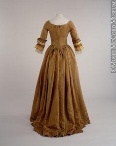 Dress  About 1770   Gift of Mrs. Mary Montizambert Harris  M981.36.1  © McCord Museum