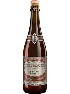 Cerveja Boulevard Bourbon Barrel Quad, estilo Belgian Dark Strong Ale, produzida por Boulevard Brewing, Estados Unidos. 11.8% ABV de álcool.