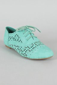 Cambridge-05+Perforated+Lace+Up+Oxford+Flat