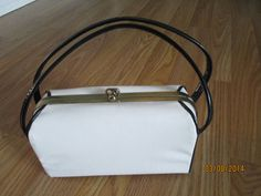 Vintage Handbag or Purse 1950s/1960s White Box by LousLoveliness, $65.00