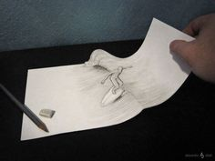 New! 3D Illusion Drawings by Alessandro Diddi
