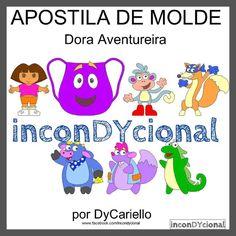 >> Apostila digital com a Turma da Dora Aventureira [conforme imagem], para ser feito em feltro/tecido.  >> Vem com os personagens que estão na imagem!  >> Sem PAP [passo a passo]. Apenas o molde.  >> Em 2D.  No tamanho de aproximadamente 30cm.  >> A apostila tem 4,05mb, formato PDF, 39 páginas. https://www.facebook.com/inconDYcional/photos/a.811942578856722.1073741827.187805041270482/1064587463592231/?type=3&theater