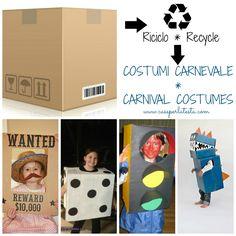 Carnevale: il costume fai da te da fetta di pizza  Per i bambini kids crafts  Pinterest ...