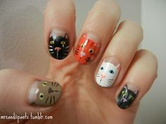 more kitty nails!