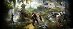 Oz The Great and Powerful Six Dream Weavers: I Shall Blow a Fanfare