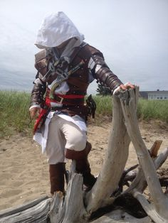 NEW Assassins Creed Black Flag Edward Kenway Cosplay Genuine Leather Costume on eBay , $500.00