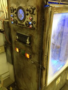 Static: Cryo-chamber prop Halloween forum member bhsfx's classroom project