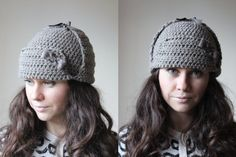 Womens Hats Knit Hats knit hat with ears Womens Winter by GeromeSM, $33.88
