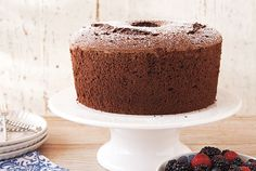 Chocolate Chiffon Cake recipe - Canadian Living
