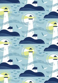 Lucy Davey lighthouse print