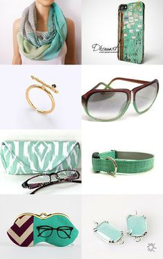 Minty Taste by Uli Ben Israel on Etsy--Pinned with TreasuryPin.com