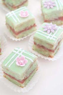 Petit Fours Erdbeer-Limette - from Veganpassion (Bake Rice Vegan)