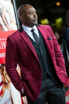 Morris Chestnut at the premier of Best Man Holiday