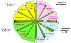 La roue des #compétences #RH #talents
