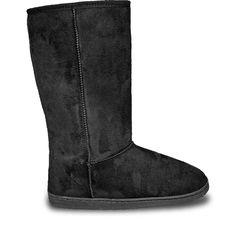 Women's 13-inch Microfiber Boots - Black - https://crowdz.io/product/womens-13-inch-microfiber-boots-black/?pid=PKGXZ73DQPVJ1MO&utm_campaign=coschedule&utm_source=pinterest&utm_medium=Crowdz