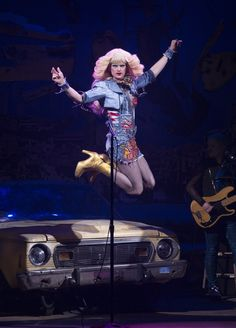 """This is going to be, legen. 15 Photos Of Neil Patrick Harris In """"Hedwig And The Angry Inch"""" David Burtka, David Boreanaz, Broadway Theatre, Musical Theatre, Magic Memes, John Cameron Mitchell, Neil Patrick Harris, Hedwig, Matthew Mcconaughey"""
