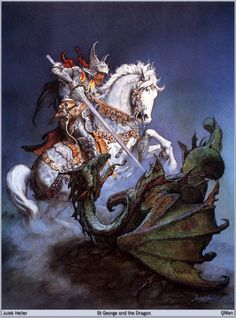 St. George and the Dragon by Julek Heller