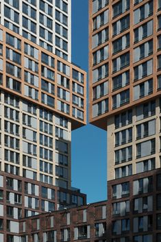 Image 13 of 31 from gallery of Vander Park Residential Buildings / de Architekten Cie. Photograph by Alexey Narodizkiy High Building, Multi Story Building, Brick, Buildings, Marvel, Park, Architecture, Gallery, Photograph