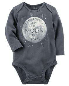 Baby Boy Mommy Loves Me Collectible Bodysuit | Carters.com https://presentbaby.com
