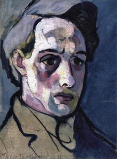 Theo van Doesburg · Self Portrait · 1911 · Private Collection