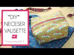 Neceser tipo valisette. Curso online Aprende a coser a máquina - YouTube