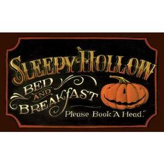 Love this, it would be a perfect addition to my decorating. Sleepy Hollow Decorative Floor Mat