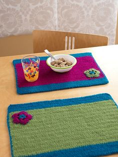 Placemats...  Individuales...