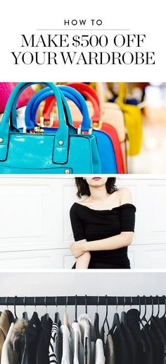 How to Make $500 Simply by Purging Your Closet via @PureWow