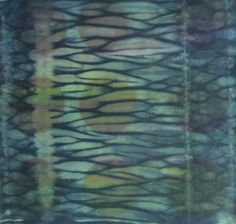 """Shibori Sample from Elin Noble """"Additions & Subtractions"""" Workshop at the Barn May 2012 - - Mary Valerie Richter"""
