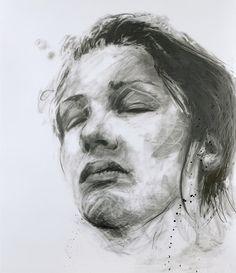 Philippe Pasqua ~ Constance, 2009 (graphite)
