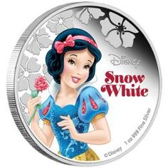Disney Princess - Snow White 2015 1oz Silver Proof Coin http://www.perthmint.com.au/catalogue/disney-princess-snow-white-2015-1oz-silver-proof-coin.aspx