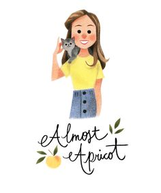 Almost Apricot on Behance » art » drawing » inspiration » illustration » artsy » sketch