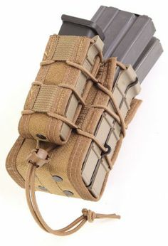 This unique pouch can securely hold an infinite combination of mags and other TACO® Modular Double Rifle and Single Pistol Mag PouchThe TACO® combines two modular rifle mag pouches and a modular pistol mag pouch Tactical Equipment, Tactical Vest, Edc, Molle Gear, Battle Belt, Beretta 92, Do It Yourself Organization, Tactical Gear, Ideas