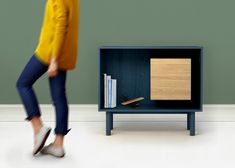 Outofstock's Flag cabinet is both closed cupboard and display case