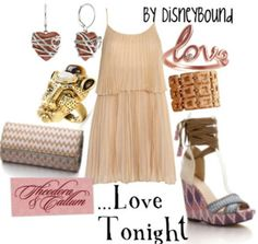 Disney Bound - Can You Feel the Love Tonight Sparkly Outfits, Cute Outfits, Night Outfits, Spring Outfits, Dress Outfits, Dresses, Disney Style, Disney Love, Disney Inspired Fashion