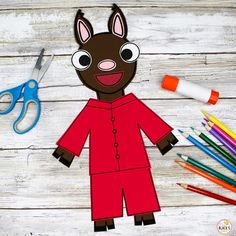 Kindergarten Crafts, Kindergarten Classroom, Llama Llama Red Pajama, Red Pajamas, Nursery Crafts, Preschool Classroom
