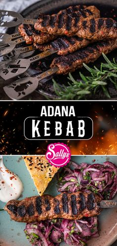 Kebab Recipes, Grilling Recipes, Healthy Recipes, Kebabs On The Grill, Burger Menu, Oriental Food, Bbq, Food And Drink, Snacks