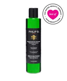 Best Shampoo for Fine Hair No. 5: Philip B. Peppermint and Avocado Volumizing & Clarifying Shampoo, $28