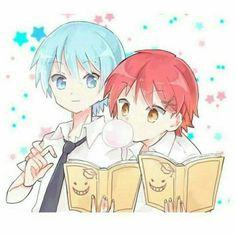 Huehwhehhehehehe  Tags: AnKyou AssasinationClassroom Nagisa Karma Anime