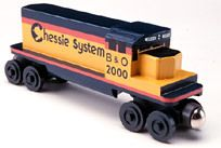Whittle CHESSIE DIESEL ENGINE Wooden train