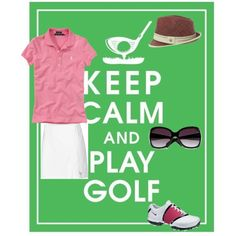 Summer Golf Wear, created by michelledlowe on Polyvore