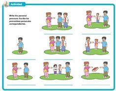 ejercicios pronombres personales en español - Pesquisa Google